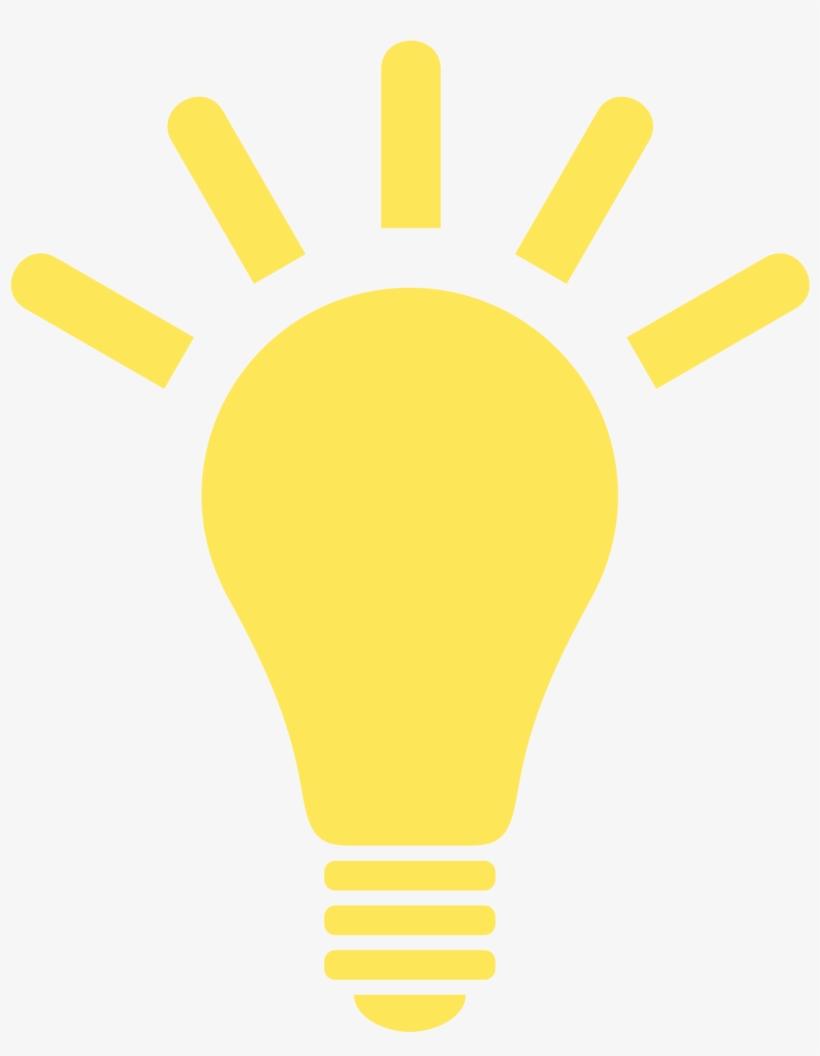 Lightbulb Png - Yellow Light Bulb Icon, transparent png #160824