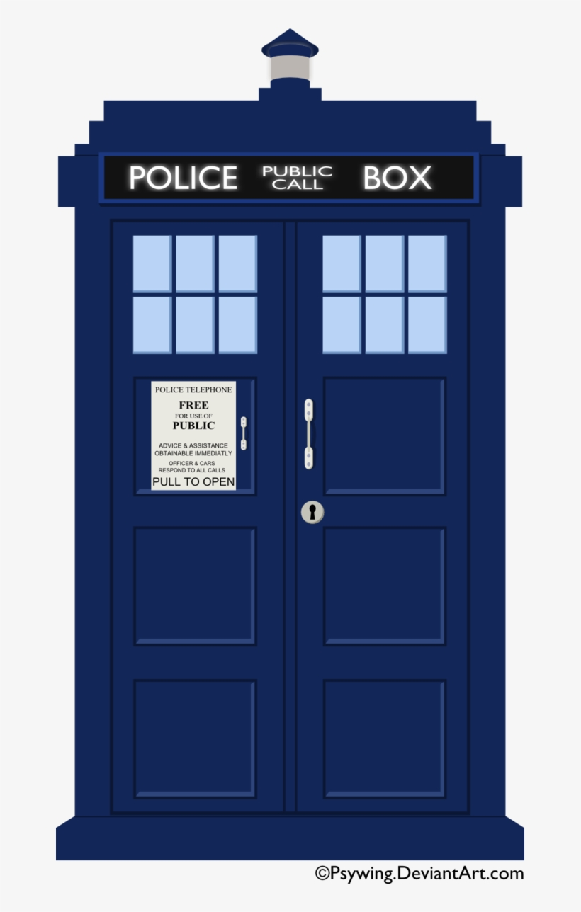 Free Icons Png - Tardis Clipart, transparent png #161437