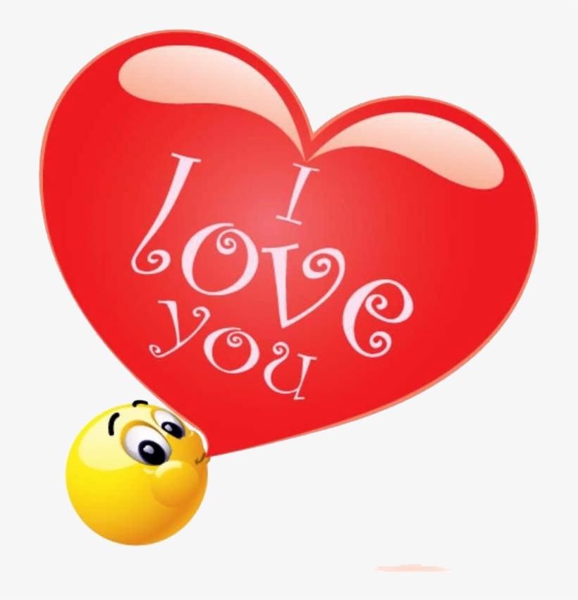 I Love You - Love You Emoticons, transparent png #161896