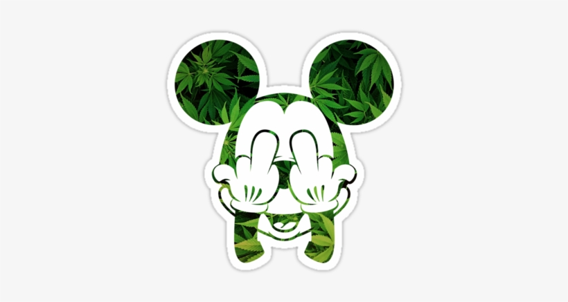 Hands Mickey Mouse Weed Png Svg Royalty Free Stock Mickey Weed Free Transparent Png Download Pngkey