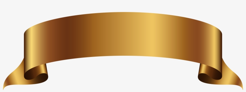 Golden Banner Transparent Png Clip Art Image Gallery - Ribbon Banner Transparent Background, transparent png #163055