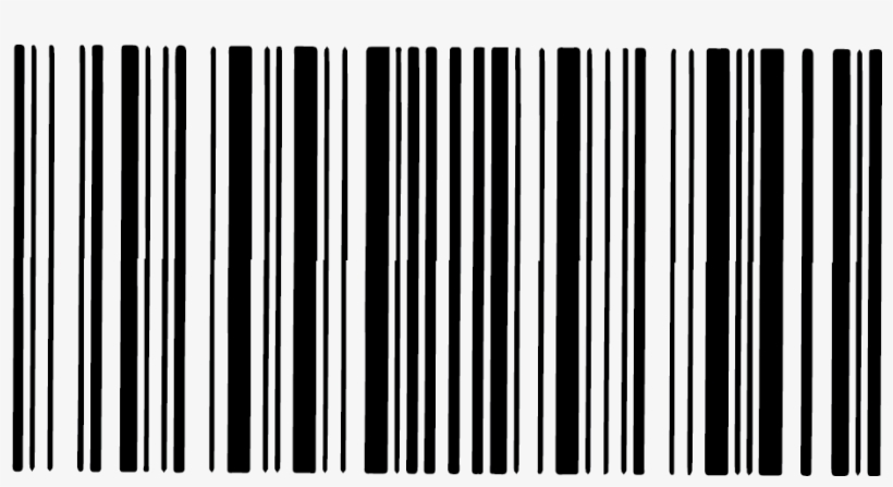 Barcode Without Numbers Png Clipart Black And White - Png Barcode Without Number, transparent png #163338