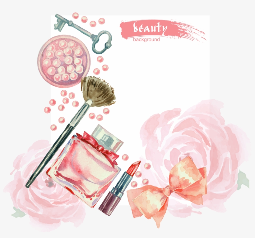 Vector Freeuse Beauty Vector Watercolor - Wake Up Wall Art Size: 61 X 91 Cm, transparent png #163387