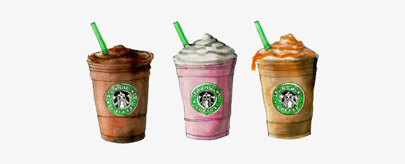 Starbucks Coffee Tumblr Drawing Download Starbucks Illustration Free Transparent Png Download Pngkey