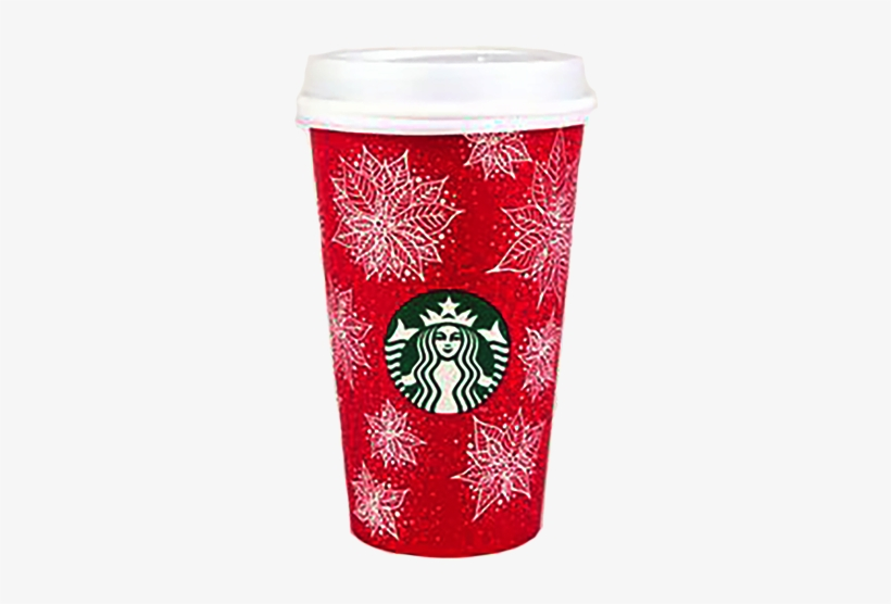 Starbucks Red Cup Png Clip Art Black And White Library - Starbucks Red Cup Transparent, transparent png #163775