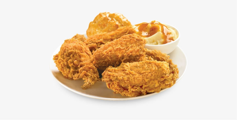 3 Pc Wings - Crispy Fried Chicken, transparent png #163815