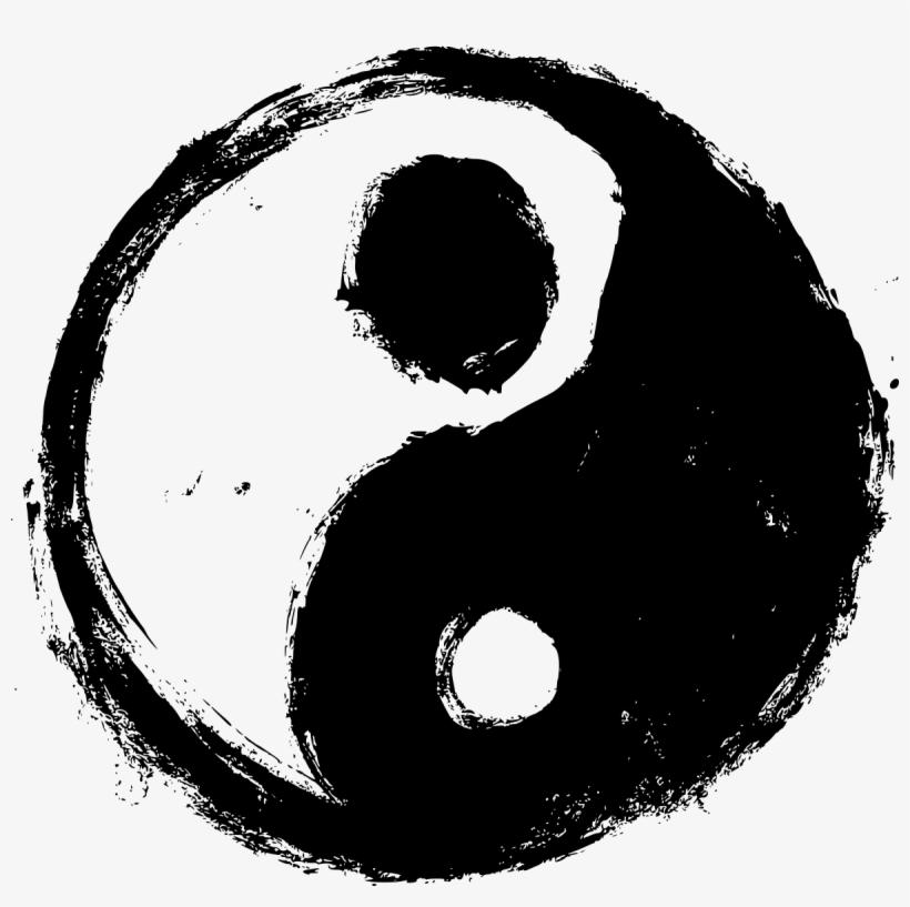 символы черного и белого картинки