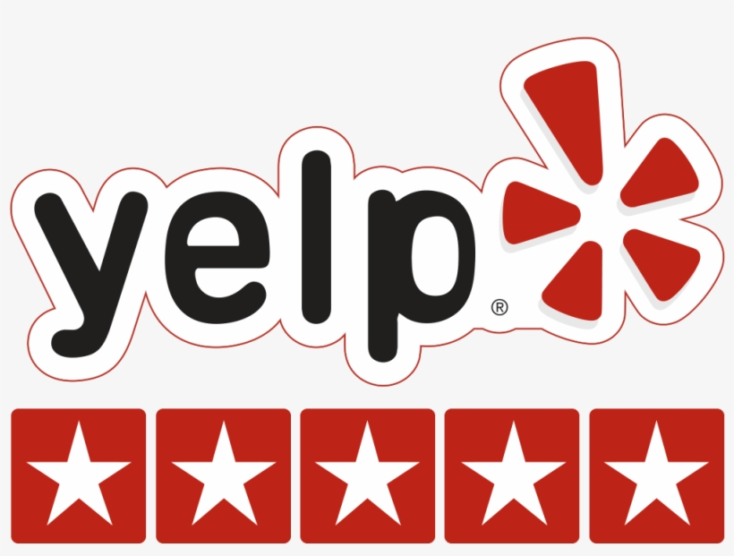 Yelp Stars Png - Yelp 5 Star Review, transparent png #164165