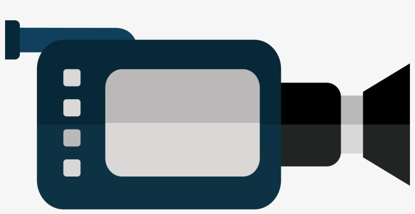 Video Camera Simli Clipart Png - Logo Camera Video Png, transparent png #165442