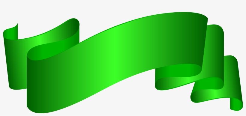 Green Ribbon Png, transparent png #166584