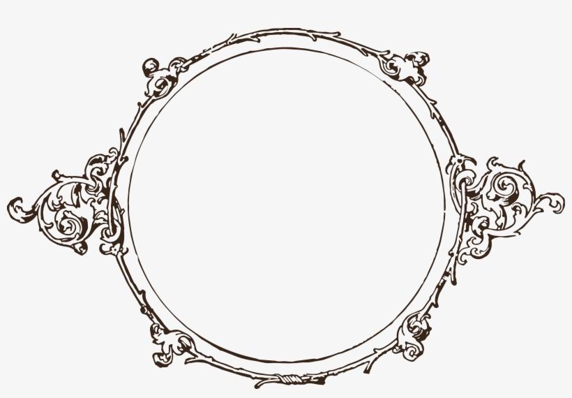 Elegant Circle Border - Vintage Circle Frame Png, transparent png #166737