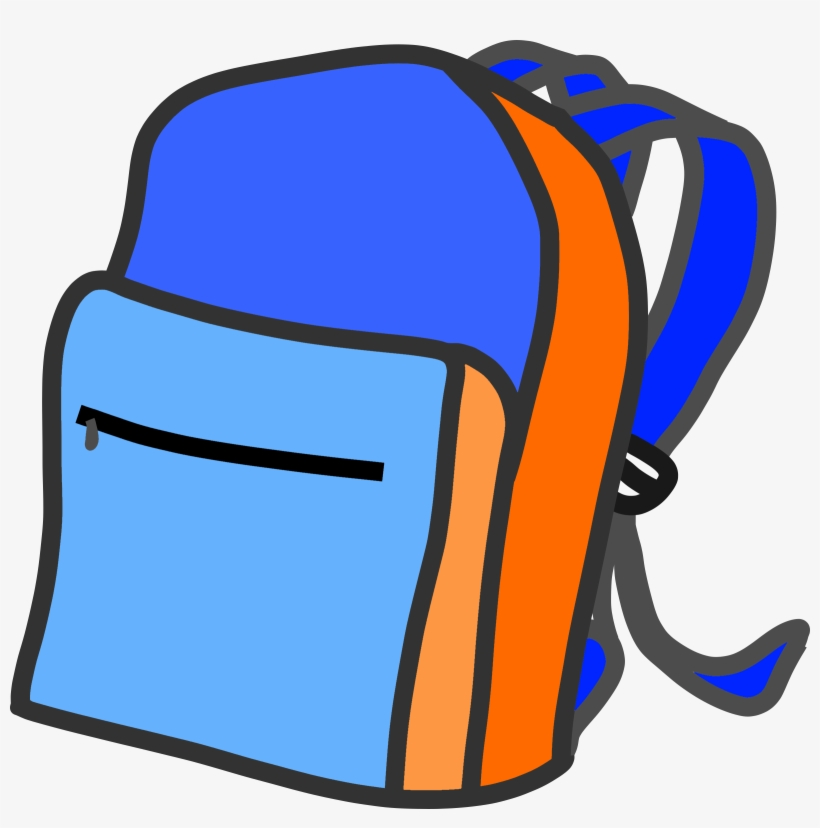 This Free Icons Png Design Of School Backpack, transparent png #166758
