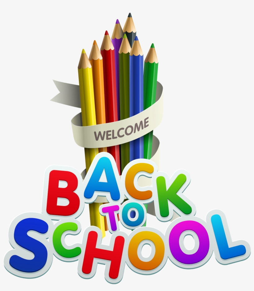 Best Free Back To School Png Image - Welcome Back To School Year 2018 19, transparent png #166960