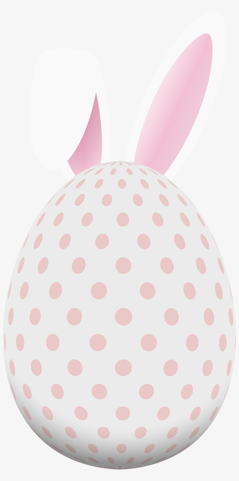 Bunny Png Egg With Clip Royalty Free - Easter Egg With Bunny Ears Clipart, transparent png #167543