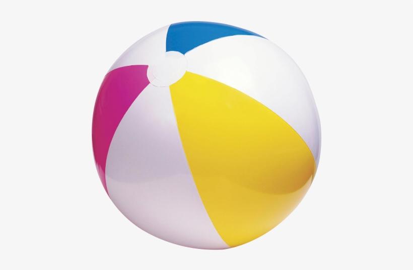 Beach Ball Png Transparent Image - Beach Ball Transparent, transparent png #168172