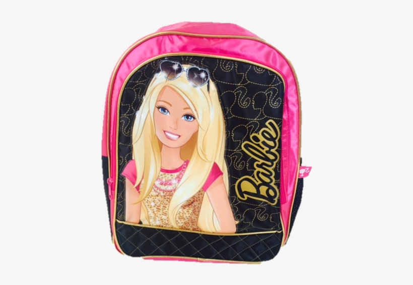 Barbie Backpack With Satin And Gold Trim - Mattel Barbie Dream House Toy Box & Play Mat, transparent png #168194