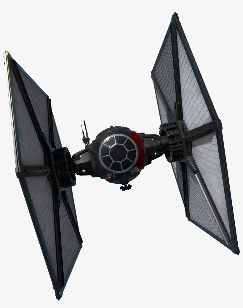 Tie/sf Space Superiority Fighter - Star Wars First Order Tie Fighter, transparent png #168700