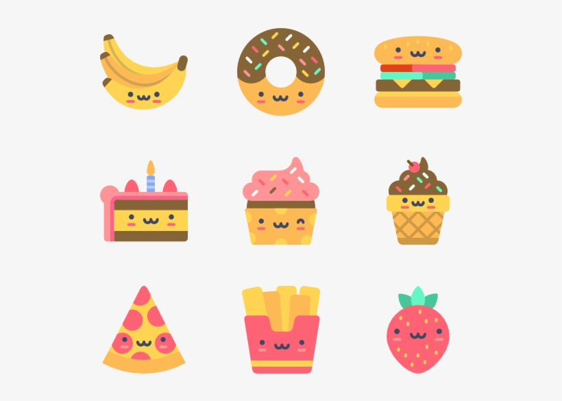 Cute Food Cute Food Png Free Transparent Png Download Pngkey