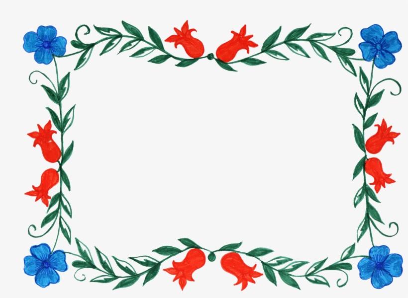 Free Download - Flower Frames, transparent png #169134