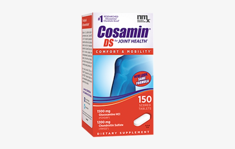 Joint Health Products - Cosamin Ds Joint Health Supplement, Capsules - 60 Count, transparent png #169159