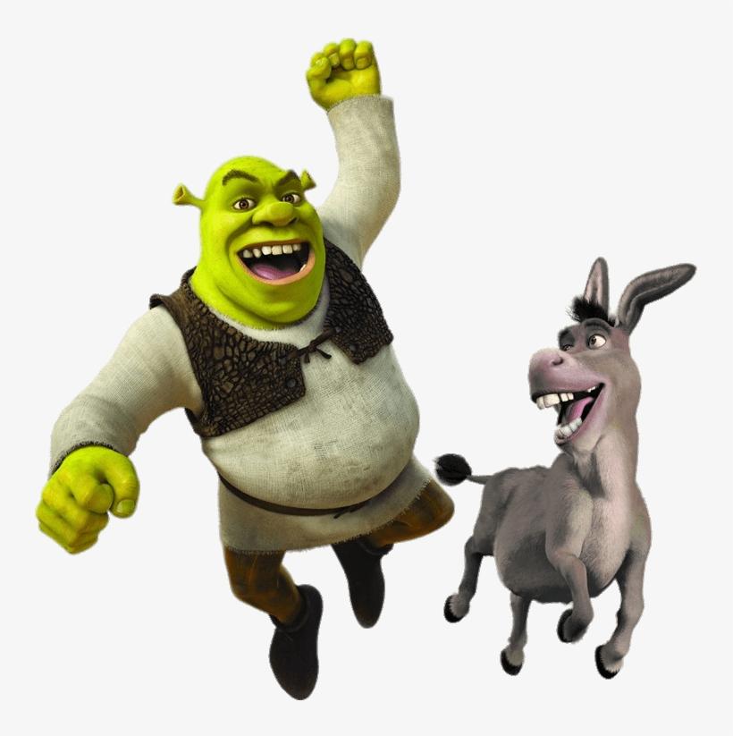 Shrek And Donkey - Shrek And Donkey Png, transparent png #169693
