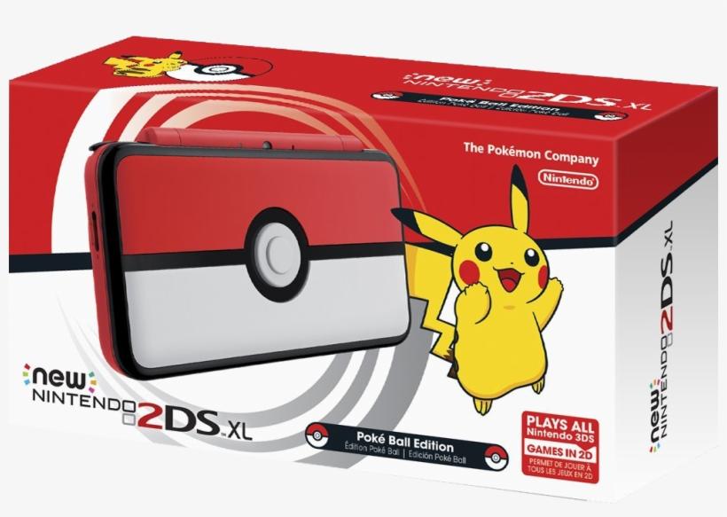 Nintendo New 2ds Xl Console - Nintendo 2ds Xl Pokemon, transparent png #1602561