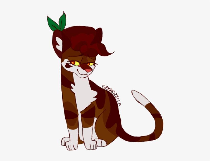 Clip Art Transparent Stock Lion Face Art Tumblr Leafpool - Gekkozilla Warrior Cat Designs, transparent png #1604419