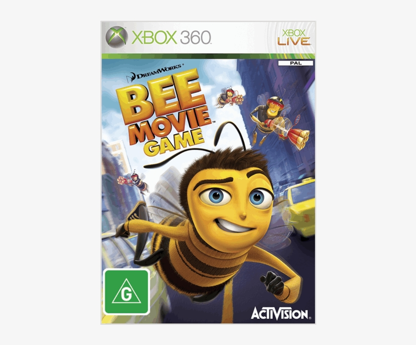 Bee Movie Game Ps2 - Free Transparent PNG Download - PNGkey