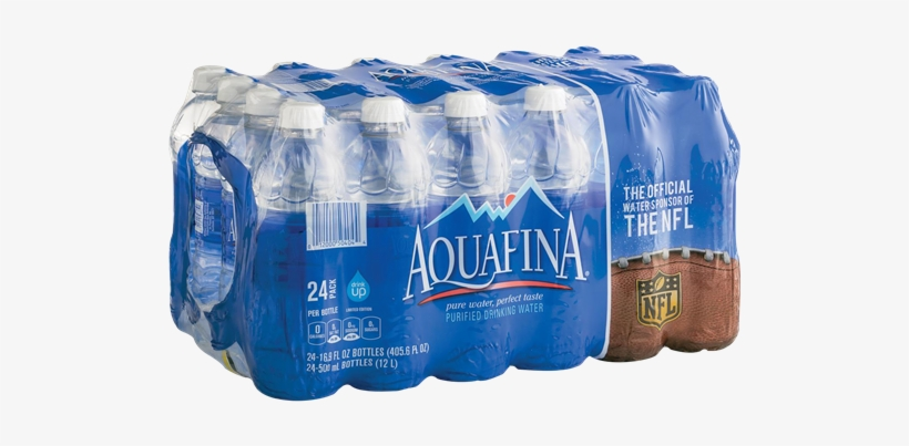 Aquafina Water 24 Pack - Water Bottle Pack Transparent, transparent png #1604999