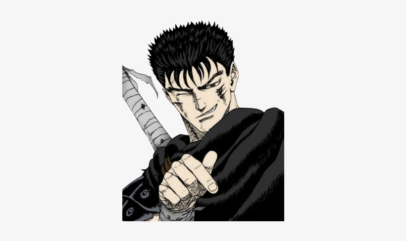 Berserk Drawing Anime - Dont Like Elves And I Dont Like You, transparent png #1605110
