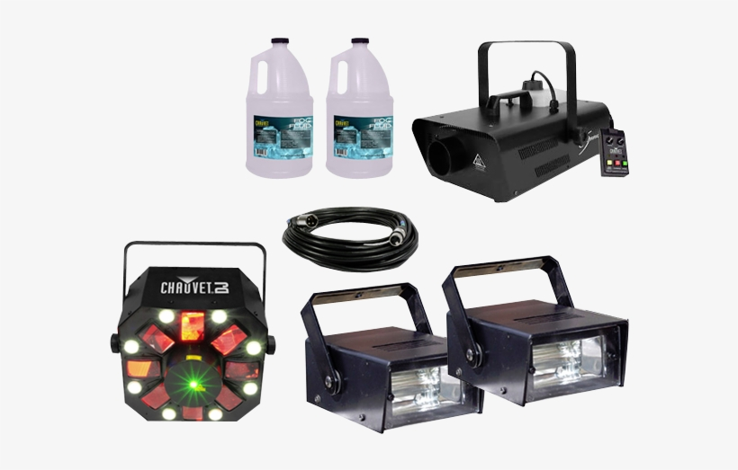 Chauvet Dj Hurricane 1302 Water Based Fog Machine With - Chauvet Dj Swarm 4 Fx 3-in-1 Led Light, transparent png #1607080