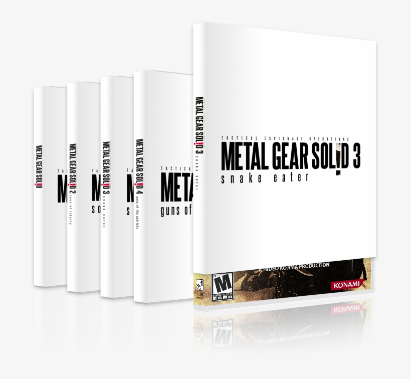 Metal Gear Solid Box Covers - Metal Gear Solid 2 Custom Box Art, transparent png #1607118