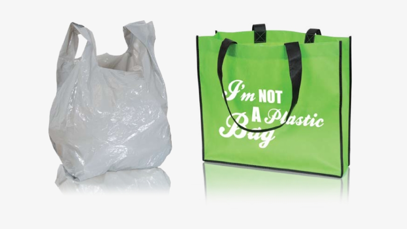 It Takes Hundreds Of Years For Plastic Bags To Decompose - Plastic Grocery Bags Png, transparent png #1608157