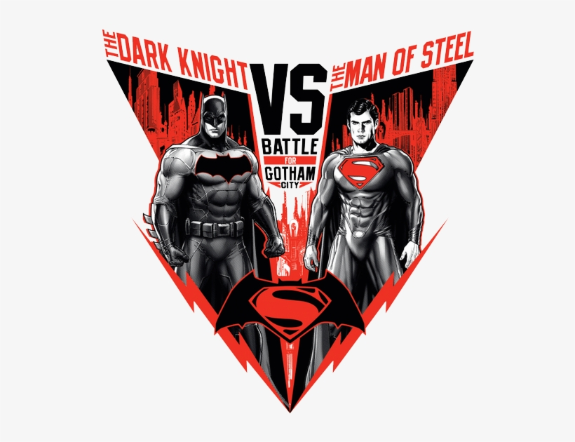 Batman V Superman Dawn Of Justice Png Picture - Batman Vs Superman Design, transparent png #1609721