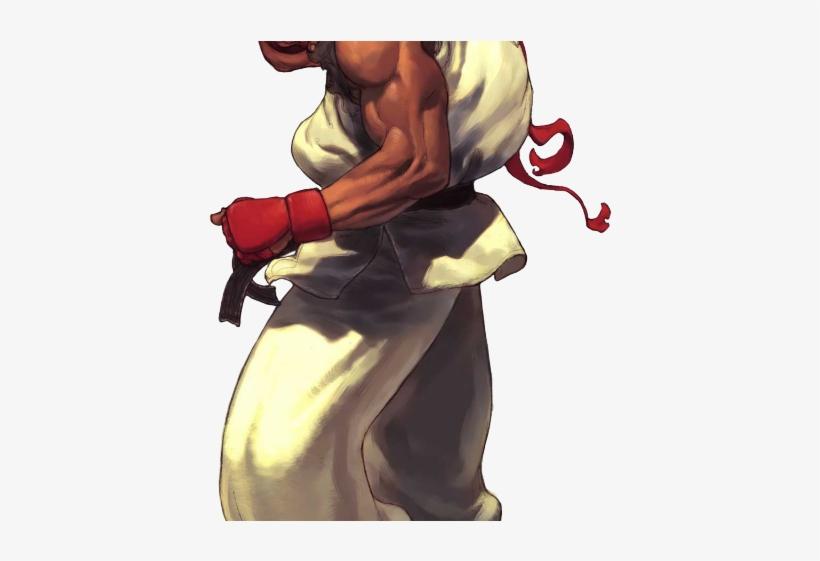 Street Fighter Clipart 3 Akuma - Street Fighter 3 Ryu, transparent png #1611252