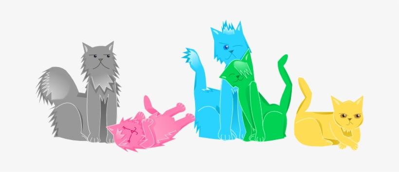 As Cats Vector Art Test By Glitchneko - Pentatonix Cats Fan Art, transparent png #1611503