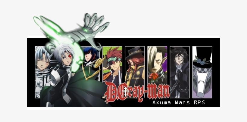 Gray-man Akuma Wars - D Grayman Season 1 Pt. 1 Tv14 2 Dvd, transparent png #1611873
