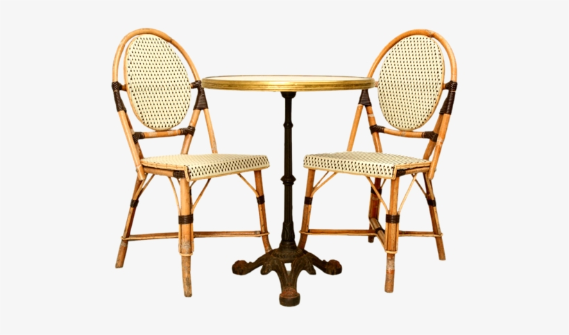 Bistro Tables, French Bistro Chairs, Cafe Tables, Cafe - French Bistro Table And Chairs, transparent png #1612183