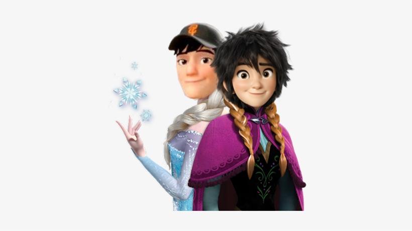 Bhg Frozen Au - Elsa Y Anna Frozen Vector, transparent png #1614050