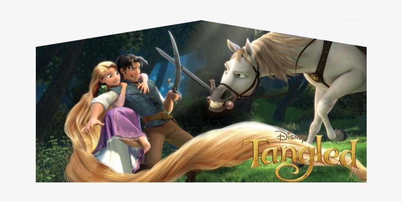 Disney Tangled Bntangled - Disney Princess Horses Animated, transparent png #1614182