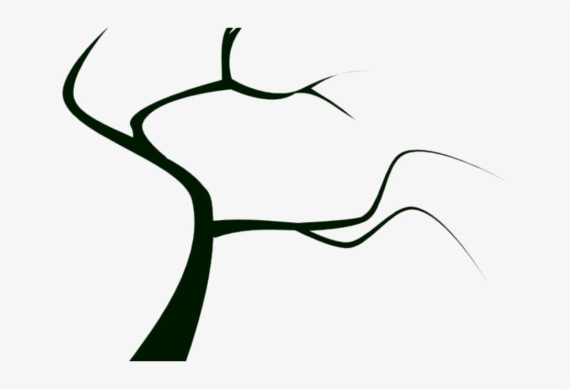 Creepy Clipart Creepy Tree - Dead Tree Clip Art, transparent png #1614978