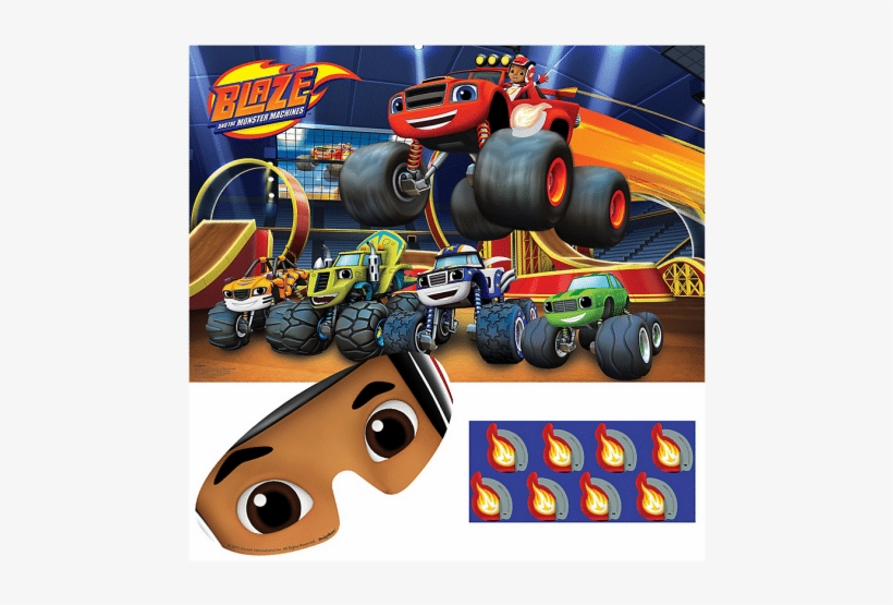 Blaze And The Monster Machines Party Game, transparent png #1615171
