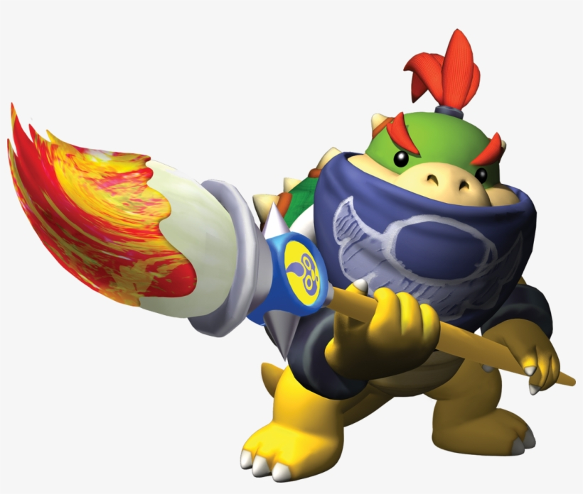 Super Mario Sunshine Bowser Jr Free Transparent Png