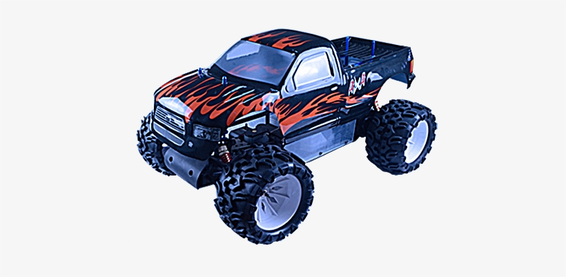 Rh502mt Blaze Monster Truck - Png Transparent Monster Truck, transparent png #1615826