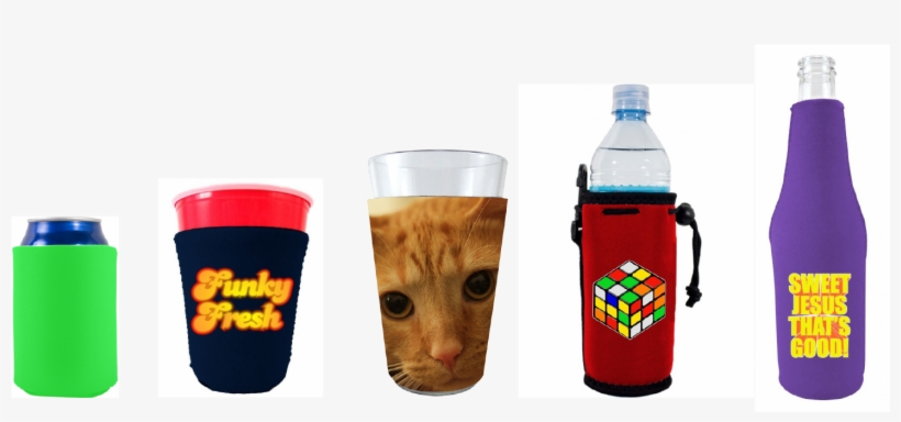 Can Coolies, Or Even Pint Glass, Solo Cup, Or Water - Water Bottle, transparent png #1617771
