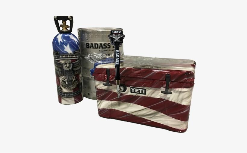 Small Black Badass Beer Tap Handle - Beer, transparent png #1620811