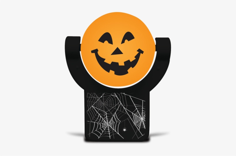 Projectables Scary Pumpkin Led Night Light Out Of Package - Light-emitting Diode, transparent png #1621553