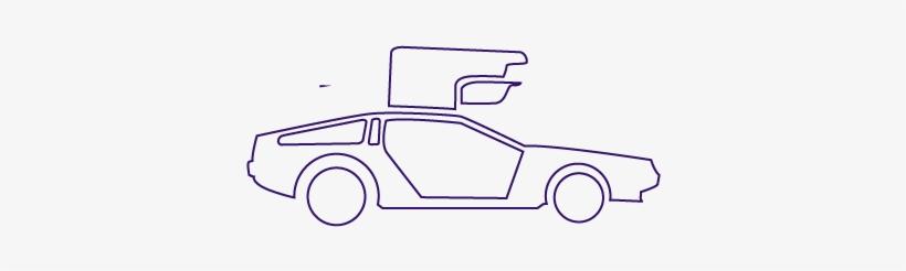 Mac James Motors >> Mac James Motors Delorean Drawing Free Transparent Png