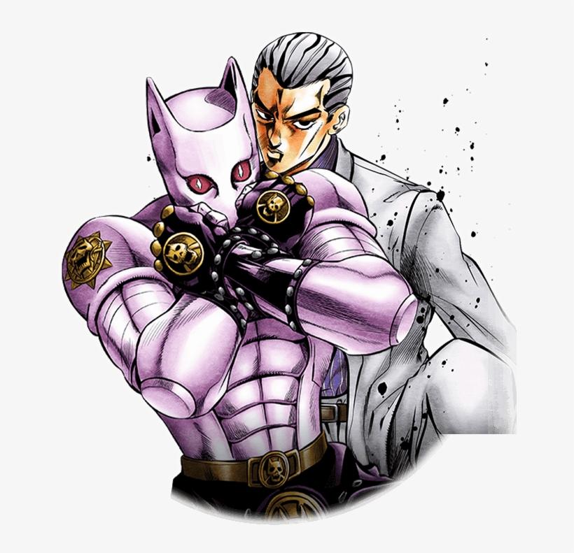 Unit Yoshikage Kira (login Bonus) - Killer Queen And Kira, transparent png #1625332
