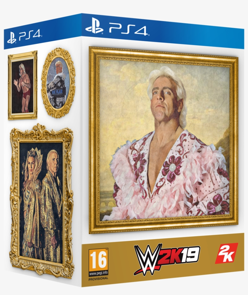 Wwe 2k19 Wooooo Edition - Wwe 2k19 Deluxe Edition, transparent png #1625796